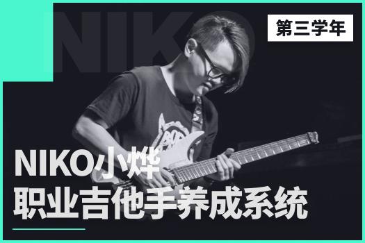 Niko小烨职业吉他手养成系统(第三学年)