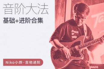 Niko小烨-音阶大法初级篇+进阶篇(原价2998)